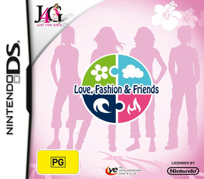 Element Girls - Love, Fashion & Friends DS coverM (CE9P)
