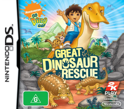 Go, Diego, Go! - Great Dinosaur Rescue DS coverM (CGDP)