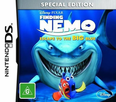 Finding Nemo - Escape to the Big Blue (Special Edition) DS coverM (TFNY)