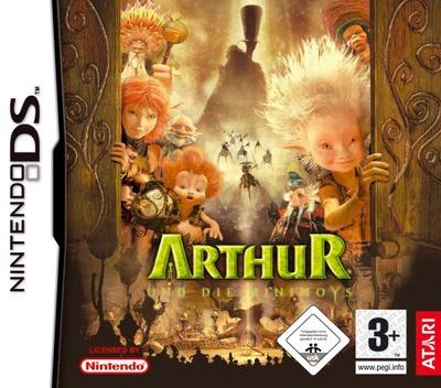 Arthur und die Minimoys DS coverM (A2MP)