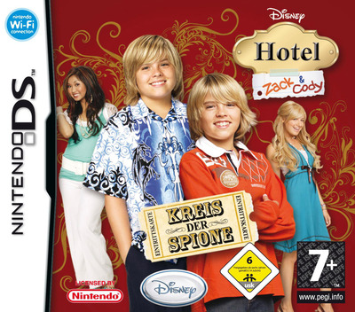 Hotel Zack & Cody - Kreis der Spione DS coverM (A3HP)