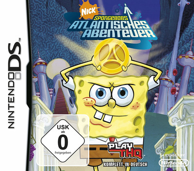 SpongeBob's Atlantisches Abenteuer DS coverM (AL3X)
