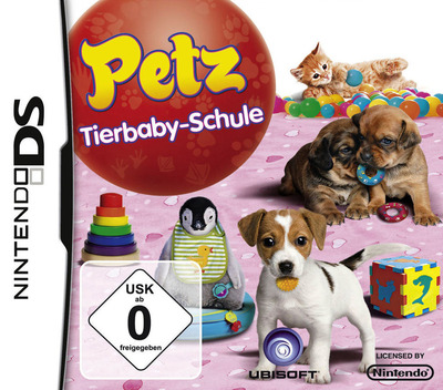 Petz - Tierbaby-Schule DS coverM (B3UP)