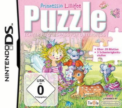 Prinzessin Lillifee Puzzle - Echter Puzzlespass für Unterwegs DS coverM (BZLP)