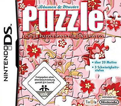 c73p puzzle flowers and patterns - Puzzle Muster