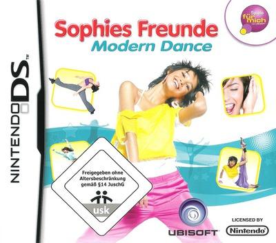 Sophies Freunde - Modern Dance DS coverM (CDSP)