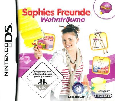 Sophies Freunde - Wohnträume DS coverM (CIDP)