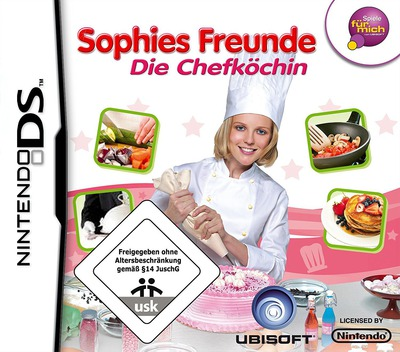 Sophies Freunde - Die Chefköchin DS coverM (CIFP)