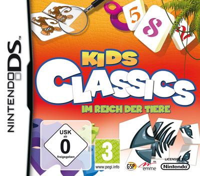 Kids Classics - Im Reich der Tiere DS coverM (CIJP)