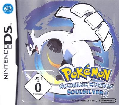 Pokémon - Silberne Edition SoulSilver DS coverM (IPGD)