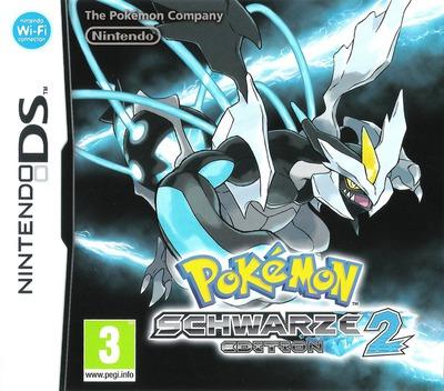 Pokémon - Schwarze Edition 2 DS coverM (IRED)