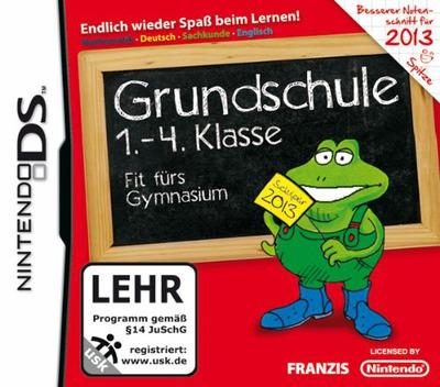 Grundschule 1.-4. Klasse - Fit fuers Gymnasium 2013 DS coverM (TG3D)
