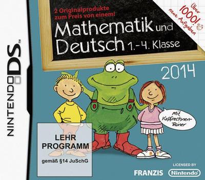 Mathematik und Deutsch - 1.-4. Klasse - 2014 DS coverM (TLND)