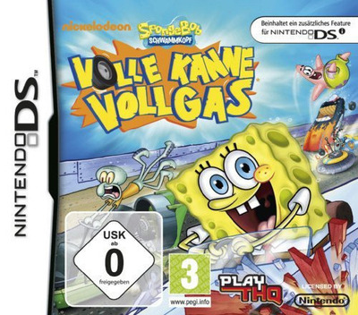 SpongeBob Schwammkopf - Volle Kanne Vollgas DS coverM (VBVV)
