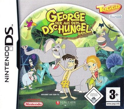 George der aus dem Jungle kam  DS coverM (YGJP)