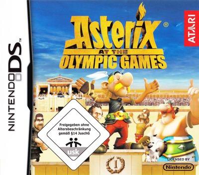 Asterix bei den Olympischen Spielen DS coverM (YRZP)