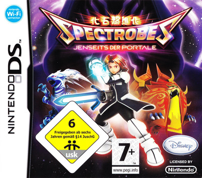 Spectrobes: Jenseits der Portale DS coverM (YV4P)