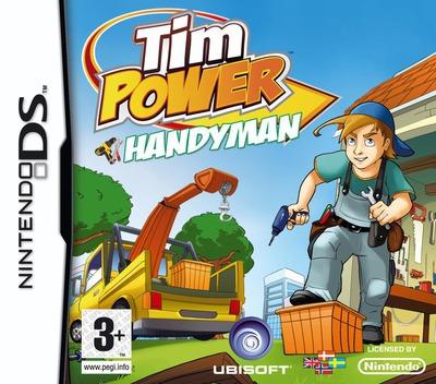 Tim Power - Handyman DS coverM (CRQP)