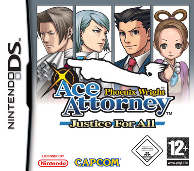 Phoenix Wright - Ace Attorney - Justice for All DS coverM (A2GP)