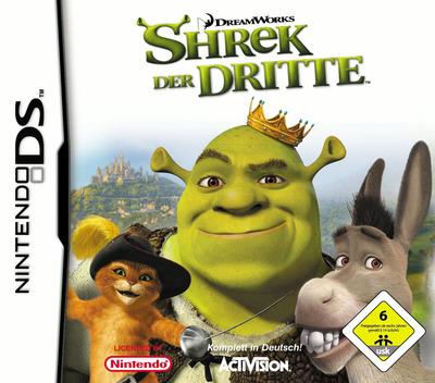 Shrek der Dritte DS coverM (A3SD)