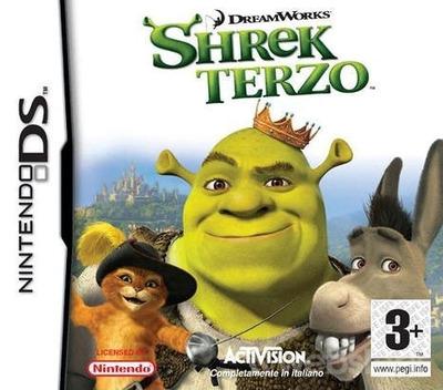 Shrek Terzo DS coverM (A3SI)