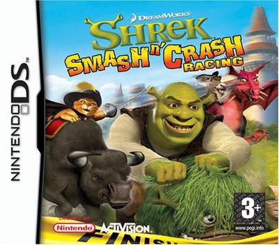 Shrek - Smash n' Crash Racing DS coverM (A4IP)