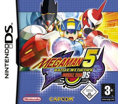Mega Man Battle Network 5 - Double Team DS DS coverM (A5TP)