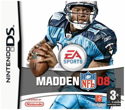 Madden NFL 08 DS coverM (A5UP)