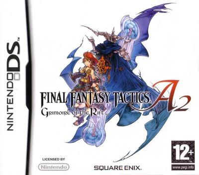 Final Fantasy Tactics A2 - Grimoire of the Rift DS coverM (A6FP)