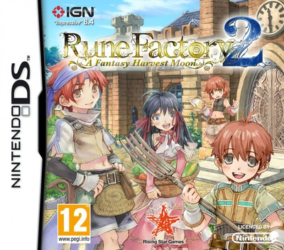 Rune Factory 2 - A Fantasy Harvest Moon DS coverM (A6NP)