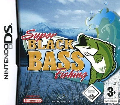 Super Black Bass Fishing DS coverM (AB8P)