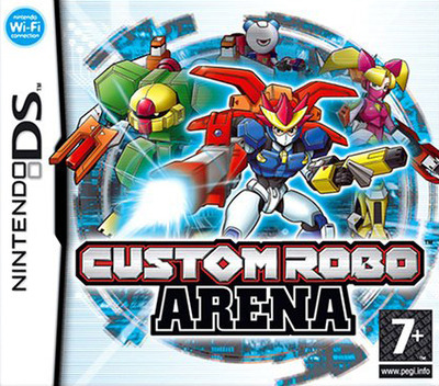 Custom Robo Arena DS coverM (ACLP)
