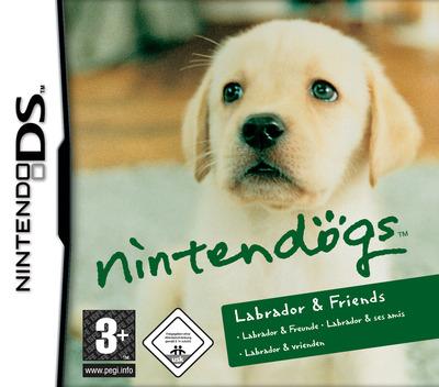 Nintendogs - Labrador & Friends DS coverM (AD3P)