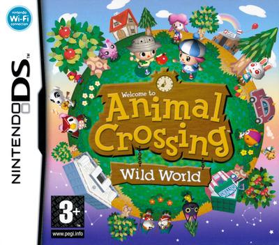 Animal Crossing - Wild World DS coverM (ADMP)