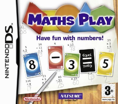 Maths Play - Have Fun with Numbers! DS coverM (AECP)