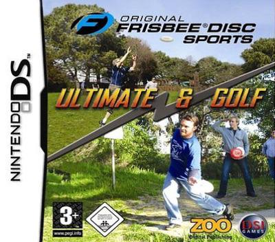 Original Frisbee Disc Sports - Ultimate & Golf DS coverM (AFBP)
