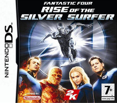 Fantastic Four - Rise of the Silver Surfer DS coverM (AFVP)