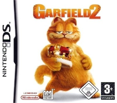 Garfield 2 DS coverM (AGVP)