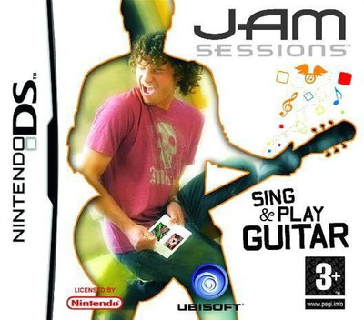 Jam Sessions - Sing & Play Guitar DS coverM (AHDP)