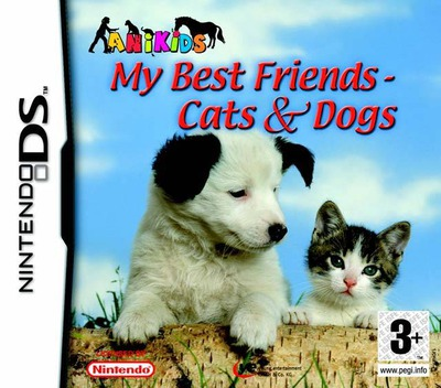 My Best Friends - Cats & Dogs DS coverM (AHJX)