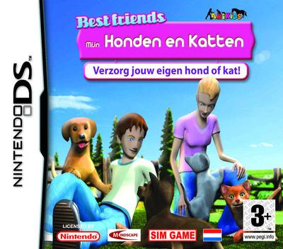 Best Friends - Mijn Honden en Katten DS coverM (AHJY)