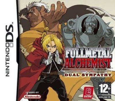 Fullmetal Alchemist - Dual Sympathy DS coverM (AHRP)