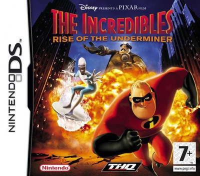 The Incredibles - Rise of the Underminer DS coverM (AICP)