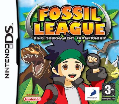 Fossil League - Dino Tournament Championship DS coverM (AKGP)