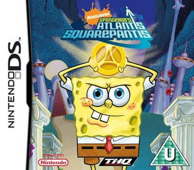 SpongeBob's Atlantis SquarePantis DS coverM (AL3X)