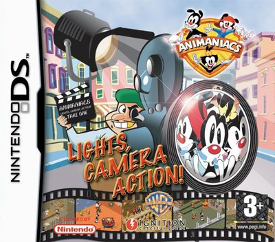 Animaniacs - Lights, Camera, Action! DS coverM (ALCP)