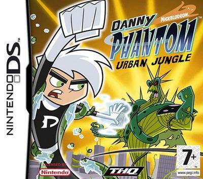 Danny Phantom - Urban Jungle DS coverM (ANPP)