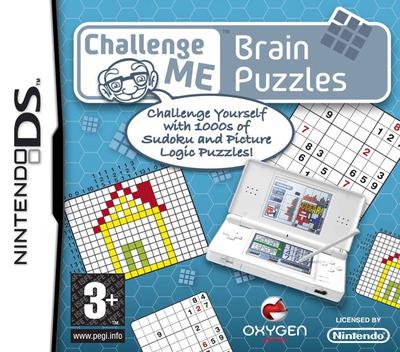 Challenge Me - Brain Puzzles DS coverM (ANQP)