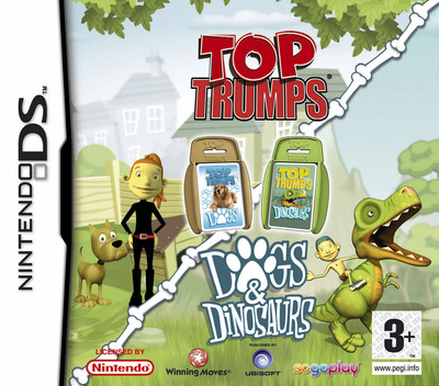 Top Trumps - Dogs & Dinosaurs DS coverM (AOQP)