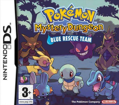 Pokémon Mystery Dungeon - Blue Rescue Team DS coverM (APHP)